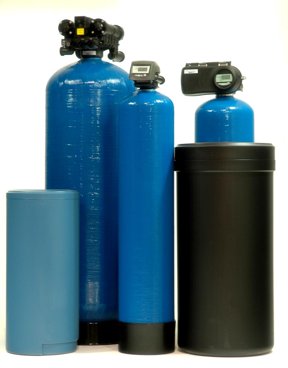 Fleck Meter Based Water Softeners With Standard Resin